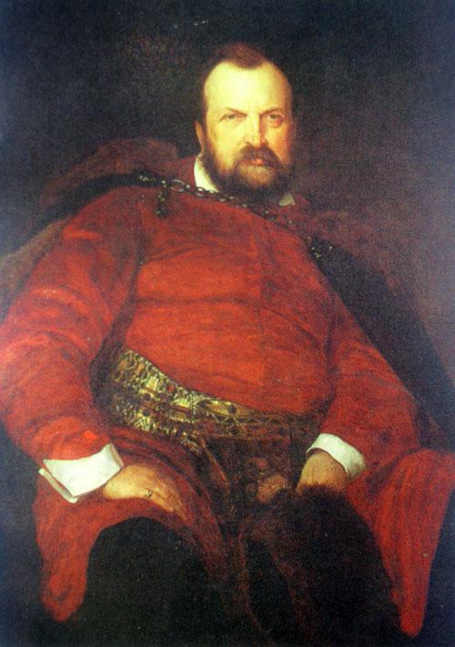 Портрет Володимира Дідушицького кисті Генріха Родаковського